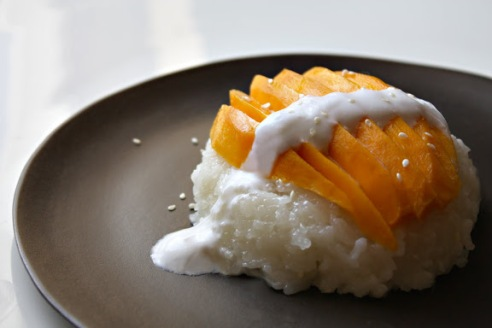SheShimmer's Mango and Sweet Sticky Rice